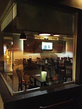 Bar von Messis Eltern in Rosario