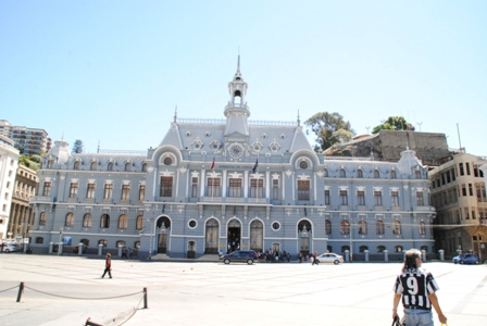 Zentrale der chilenischen Marine
