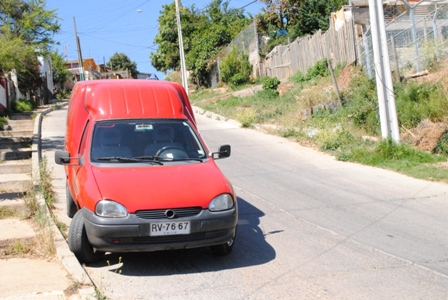 Am roten Auto