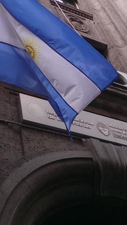 Das Innenministerium in Buenos Aires Foto: Dirk Rüger