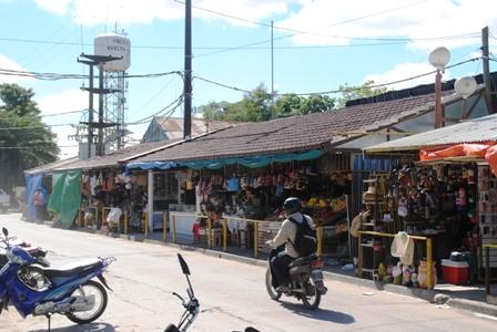 Der Straßenmarkt der Paraguayer (Formosa)
