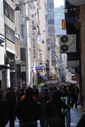 Die Fußgängerzone der Hauptstadt: Calle Florida