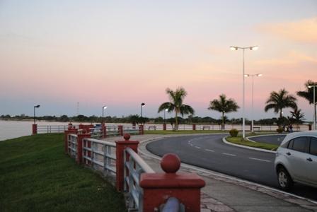 Die neue Uferpromenade von Formosa