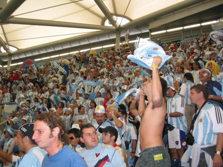 Fußball-WM 2006, 16. Juni in Gelsenkirchen Arena