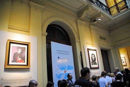 Galerie der lateinamerikanischen Patrioten im Präsidentenpalast