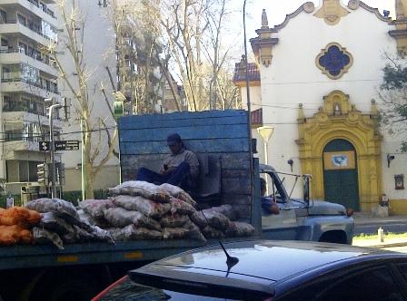 Straßenszene aus Buenos Aires