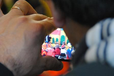 Ein Fest im argentinischen Kindergarten