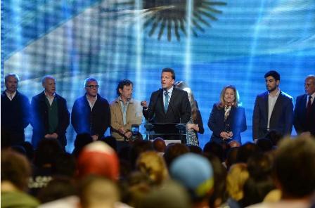 Sergio Massa am Wahlabend