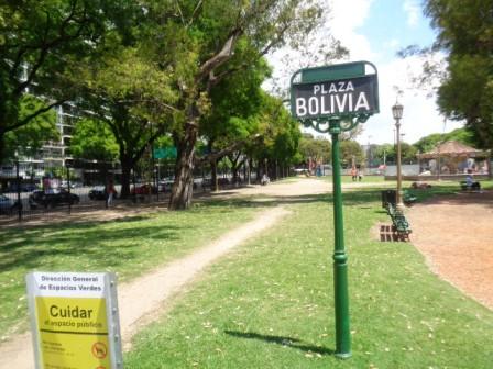 Plaza Bolivia