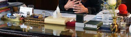 Schreibtisch ausschnitt