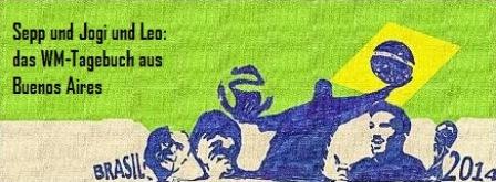 Logo des WM-Tagebuchs - Zeichung: Danü (Daniel Schlierenzauer)